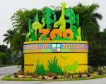 Miami Zoo entrance
